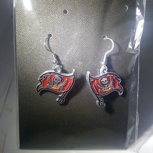 Tampa Bay Buccaneers NFL Fashion Earrings NEW